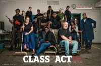 """Class Act: Teaching the Car World a Lesson"", American Way Magazine September 2009"