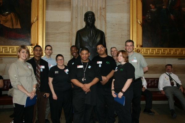 West Philly Hybrid X Team meets with Senator Casey